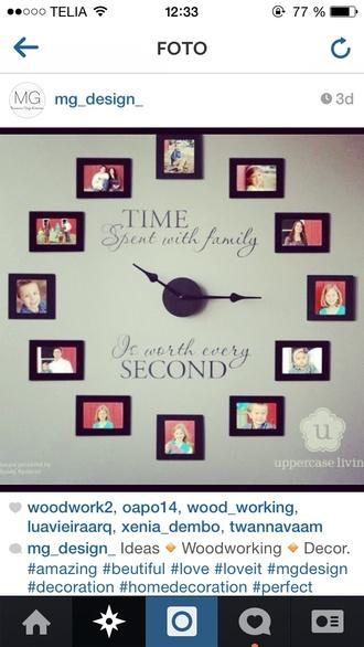 accessores watch clock uhr art clock
