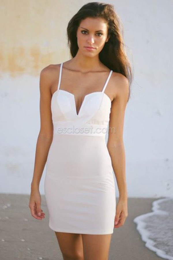 white dress bodycon dress mini dress classy dress summer dress