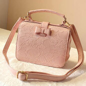bag,pastel,mint,cute,bows,floral,pink,indie,coachella,hippie,hipster
