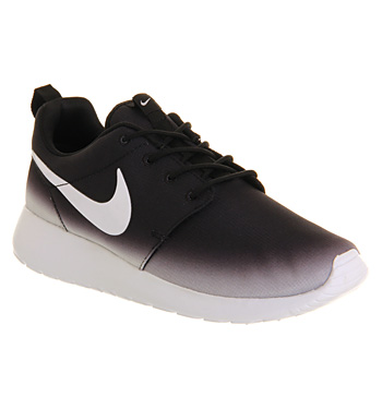 Nike Roshe Run Black White Fade Exclusive - Unisex Sports