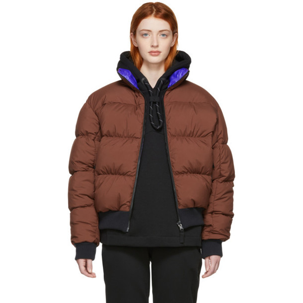 NikeLab Reversible Brown & Purple Down NRG Puffer Jacket