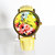 New! Summer Floral Watch, Vintage Style Leather Watch, Women Watches, Boyfriend Watch,