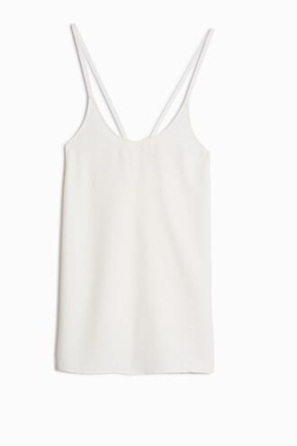 camisole jacquard white underwear