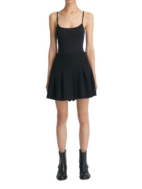 RED VALENTINO skirt black skirt black
