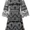 Alexis 'karina' dress, women's, size: small, black, acetate/polyester