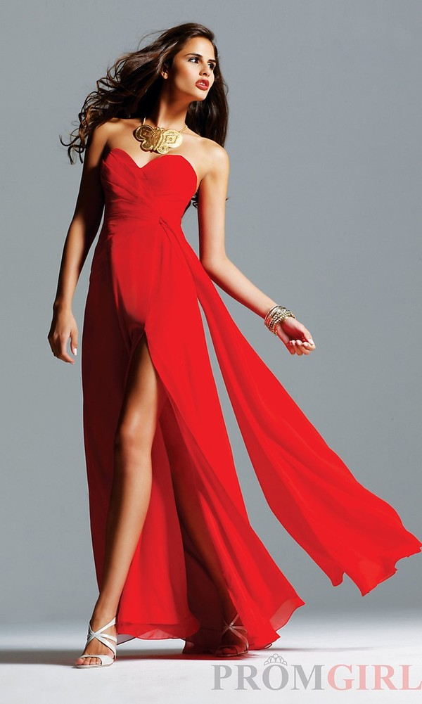 dress red dress strapless red dress redpromdress redlongdress promdress red dress prom
