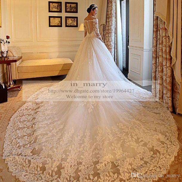 wedding dresses chapel train wedding dresses long sleeve wedding dress