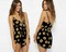 Sunflower dreams black romper shorts · fashion struck · online store powered by storenvy
