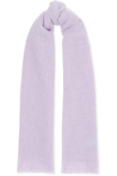 Holzweiler scarf knit lavender