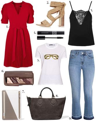 cocos tea party blogger dress shoes tank top t-shirt bag jeans
