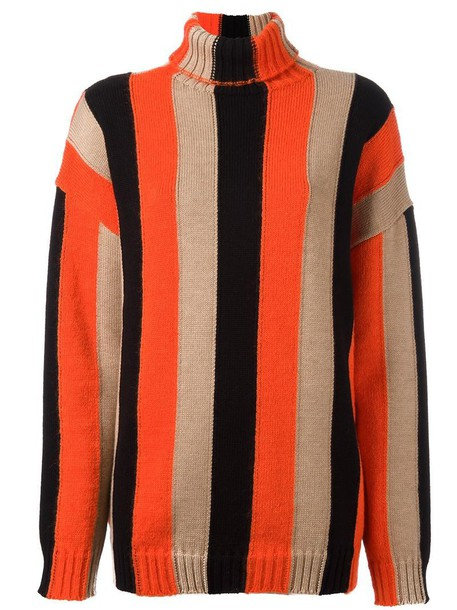 MSGM jumper turtleneck women mohair wool sweater