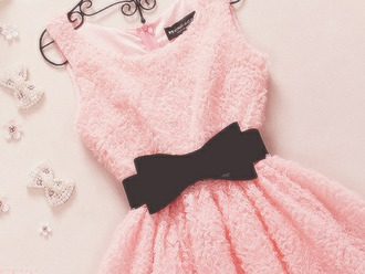 dress pink dress black bow belt pink bow light pink dress mini cute dress flowers pink sunglasses black pretty girly straps roses cute fashion prom dress black bow summer dress ruffle silver pearl belt elegant no sleeves a pink dress with black belt pink dress with black bow peach black belt