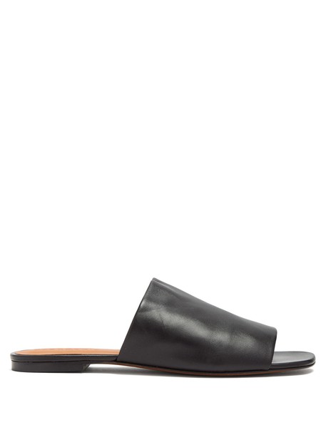 CLERGERIE leather black shoes
