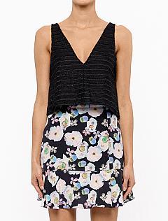 JASU | Fashion Style Universe | Shop Faddoul Online here | Tanks | Botanic Crop Tank