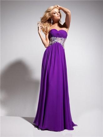 dress prom purple dress long prom dress prom gown sequin dress elegant