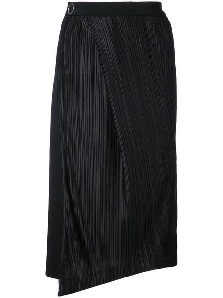 MUGLER skirt women black