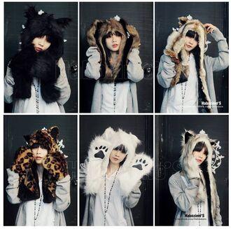 hat goth cute kawaii nyan cat cuff