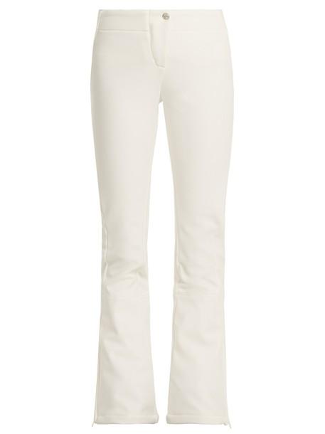 Fusalp flare white pants