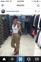 joggers,fashion,tumblr,instagram,pants,cargo pants