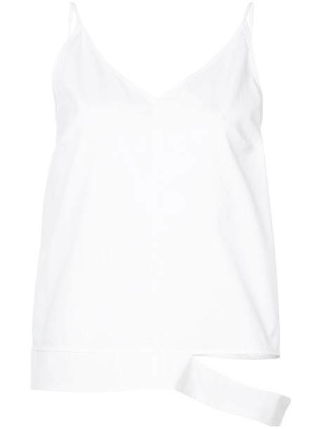 Harvey Faircloth top women white cotton