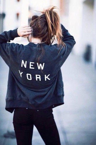 blouse grey coat new york shirt bomber jacket style black jacket grey jacket