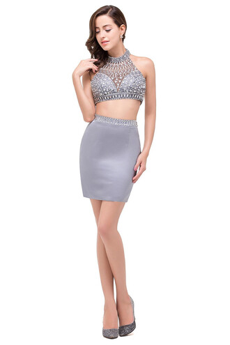 dress two piece dress set homecoming dress homecoming short homecoming dress homecoming dress beads short prom dress 2016 short prom dresses cocktail dress cocktail sexy cocktail dress party dress short party dresses grey 2016 homecoming dresss homecoming dresses 2016 2 piece dress set 2 piece prom dress