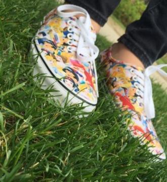 shoes disney shoes princess vans
