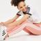 3 stripe leggings by adidas originals - pink