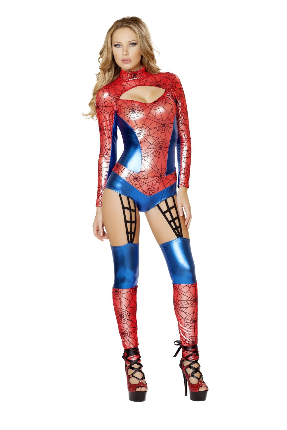 Amazon.com: roma costume women's 1 piece web crawler: clothing