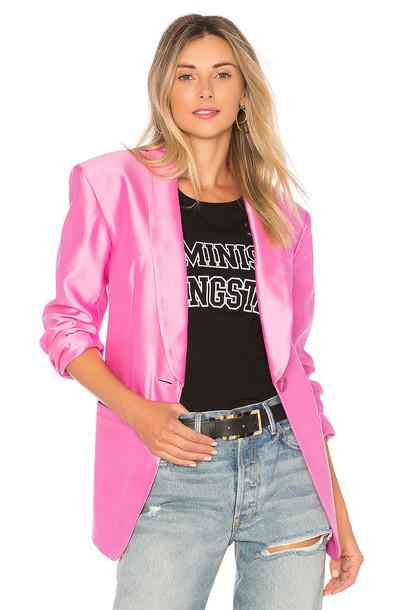 Tibi blazer pink jacket