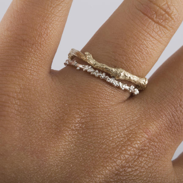 Gold Twig Ring | Michelle Oh