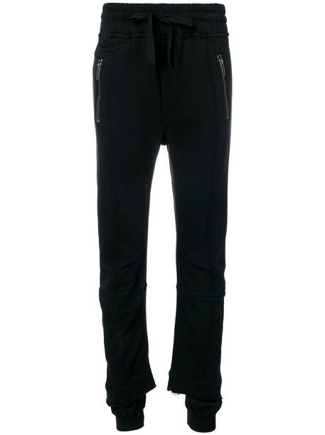 Haider Ackermann - Perth jogging trousers - women - Cotton - M, Black, Cotton