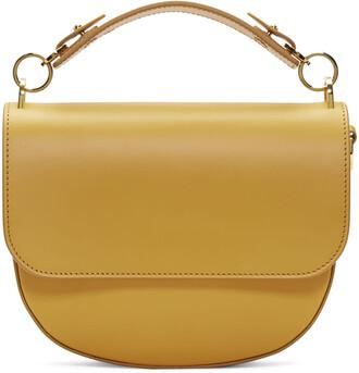 bow bag yellow