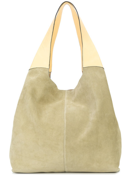 women leather nude suede camel bag