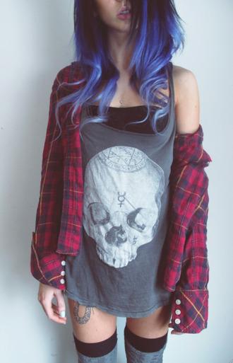 skull t-shirt skull
