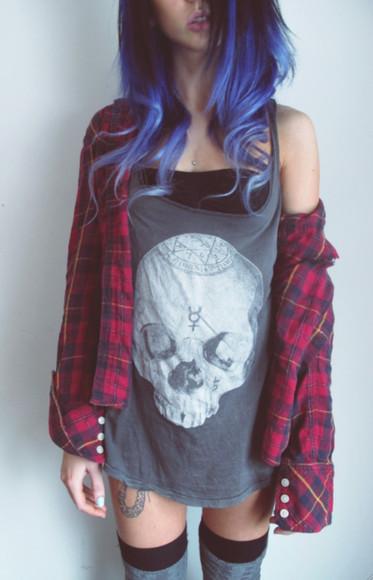 skull skull t-shirt