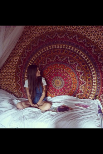 home accessory mandala indie tumblr tapestry