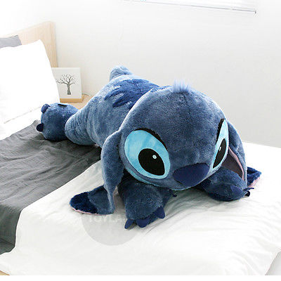 Disney Stitch Plush 120cm 47 2inch Lilo and Stitch Lying Big Size Doll | eBay