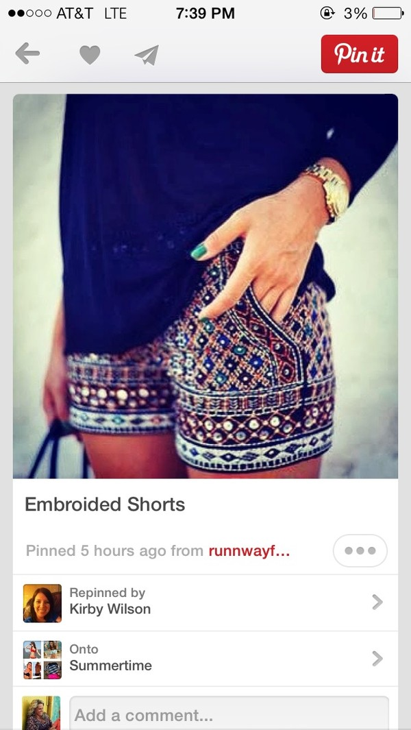shorts embroidered zara embellished shorts mini shorts colorful shorts sequins cute embroided shorts