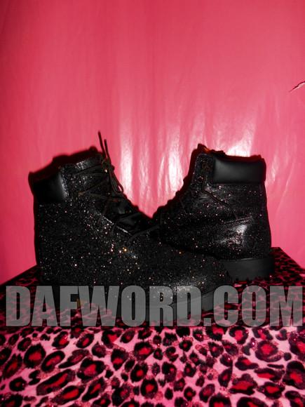 shoes glitter timbelands glitter timberland boots