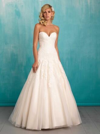 dress wedding dress princess dress princess wedding dresses