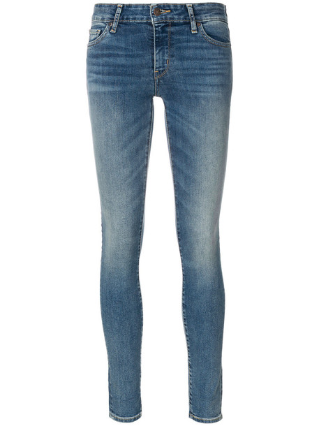 Levi's jeans skinny jeans women spandex cotton blue