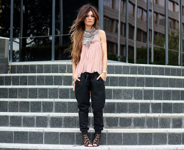 madame rosa blogger blouse shoes jewels