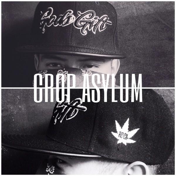 hat crop asylum hat snapback thick