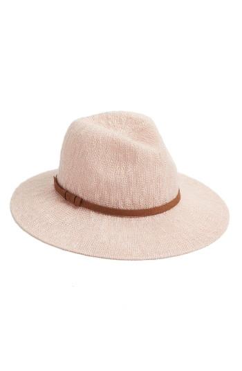 Hinge Slub Knit Panama Hat   Nordstrom