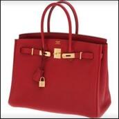 bag,red,hermes,hermes bag,red bag,tote bag