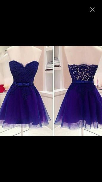 dress blue prom classy elegant beautiful shirt short fashion heart perfect