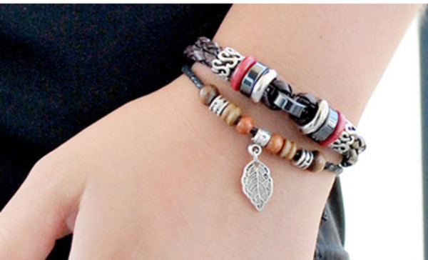jewels retro men and women bracelets leather bracelets leather bracelet bracelets bracelet chains