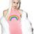 Rainbow Halter Bodysuit