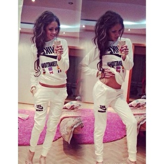 top women tracksuit new sport suit nike sweater nike sweatshirt pants fashion jogging pants jogging hoodie outfits